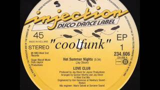 "Love Club - Hot Summer Nights (12"" Electro Disco-Funk 1983)"