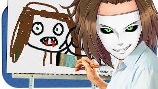 Ich male einen vampirischen Mülleimer. ☆ Skribbl.io