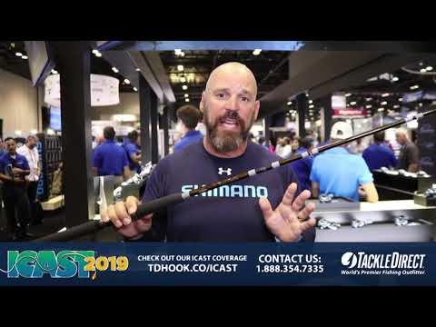 Shimano Talora Rods At ICAST 2019