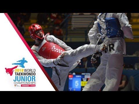 [Juniors Men –59kg FINAL] 2018 WORLD TAEKWONDO JUNIOR CHAMPIONSHIPS