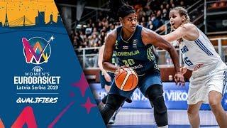 Finland v Slovenia - Full Game - FIBA Women's EuroBasket 2019 - Qualifiers 2019