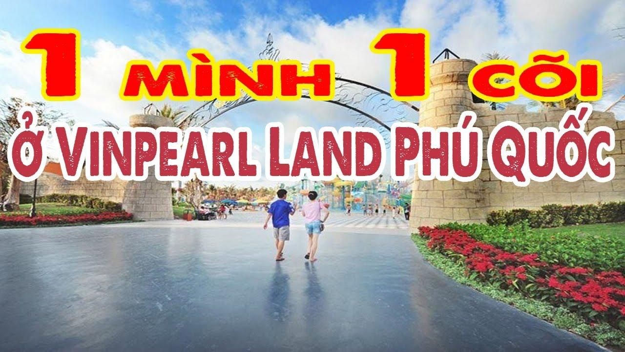 Vinpearl Land Phú Quốc 2020 một ngày ít khách thong rong dạo chơi