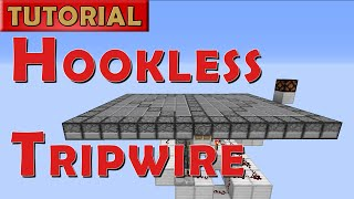 Minecraft Tutorial - Hookless Tripwire