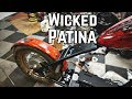 Killer Patina Paint Job!! 670cc Honda Davidson Chopper Pt. 2
