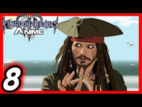 Kingdom Hearts 3: Anime [8] A Pirate's Life For Me [CC]