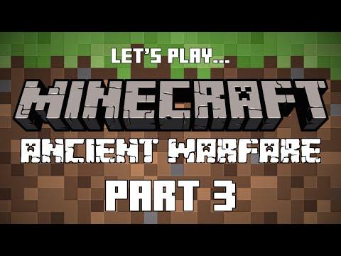 Minecraft - Ancient Warfare Pt.3 -  First Worker!