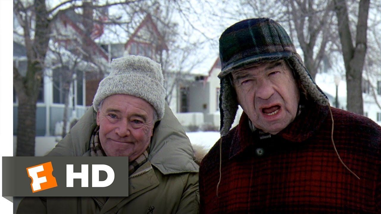 Grumpy Old Men 14 Movie Clip Not So Friendly Neighbors 1993