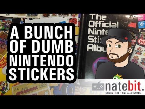 Retroware TV Collection Corner: Dumb Old Nintendo Stickers