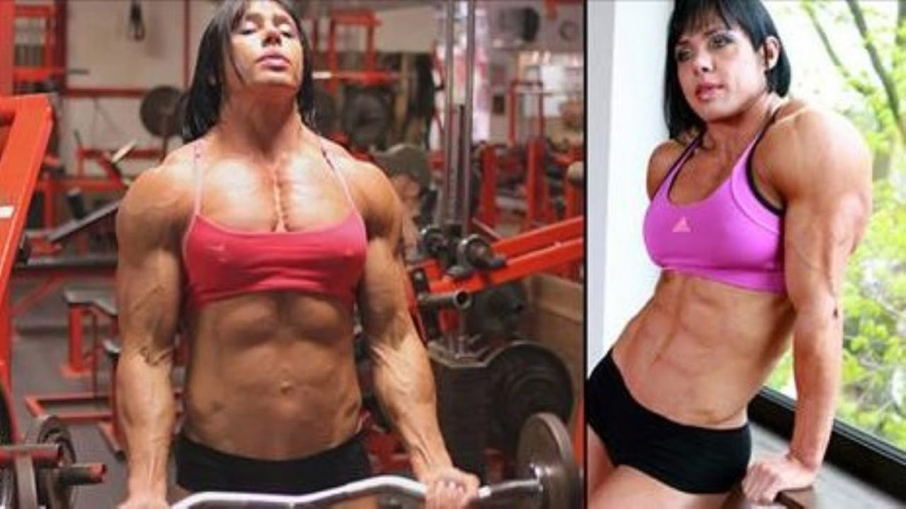Scene Female bodybuilder big tits mate finden