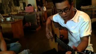 Xin lỗi Anh yêu em - Guitar Tân Bo ft Xuân Hiển ft Bin Cajon At Say Cafe