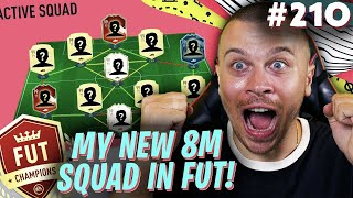 FIFA 20 I SOLD MY BEST HEADLINER CARD TO BUILD THIS INSANE 8 MILLION SQUAD FOR FUT CHAMPIONS!