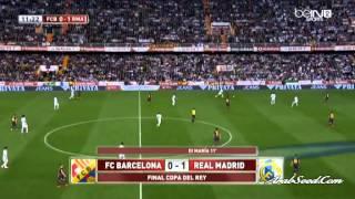 réal Madrid vs barcelona coupe du roi 2014