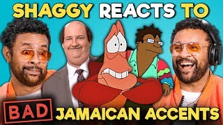 Download Shaggy Reacts To BAD Jamaican Accents In TV And Movies (The Office, The Little Mermaid, Futurama) Mp3 and Videos