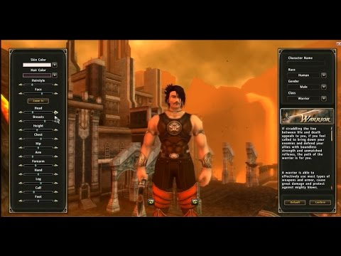 Runes of Magic Gameplay Start Character Creation 2015 HD