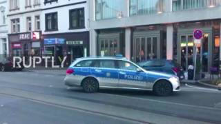 Germany: 3 injured after man drives car into people in Heidelberg; assailant shot by police