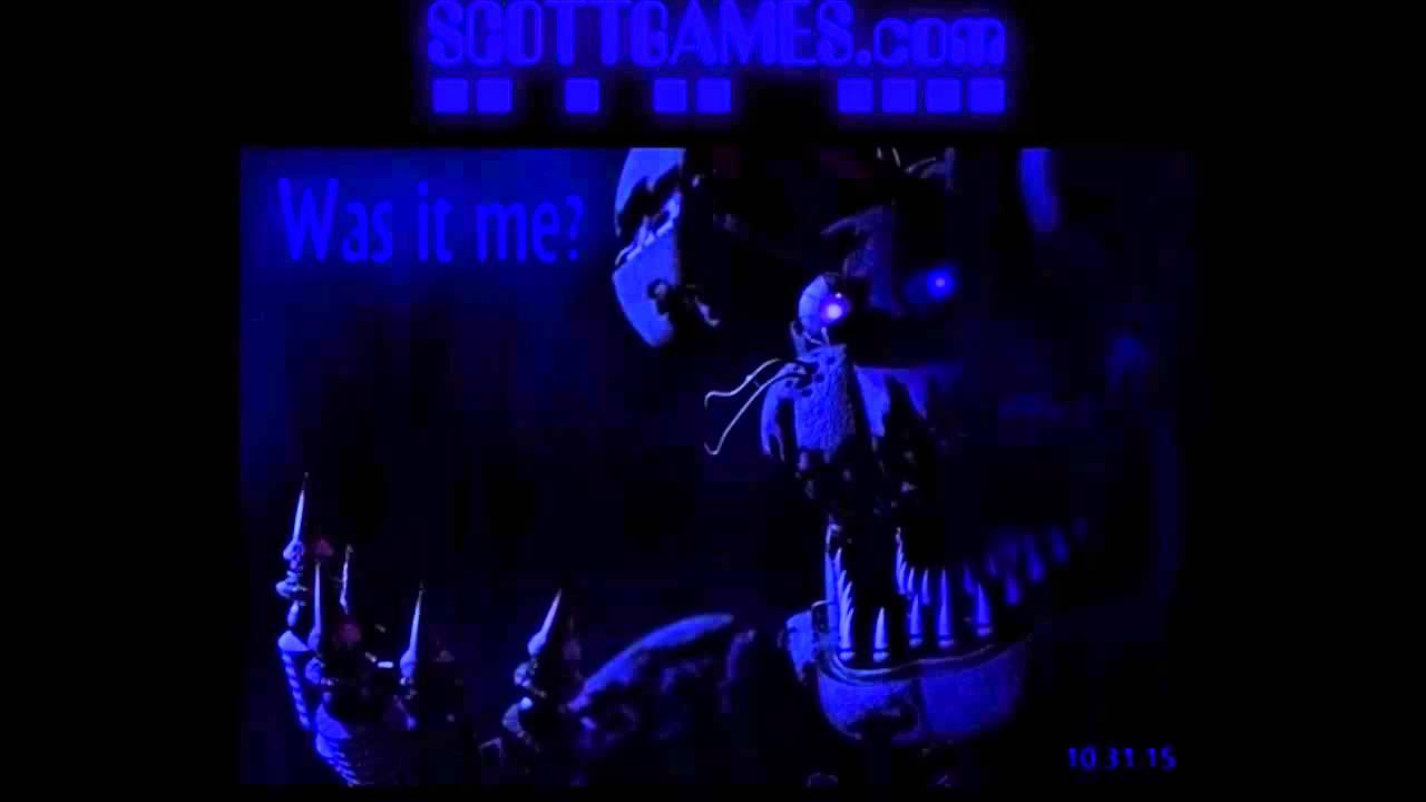 New fnaf 4 teaser image on scott games youtube
