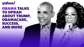 Obama talks to Oprah about Trump, Obamacare, success, and more