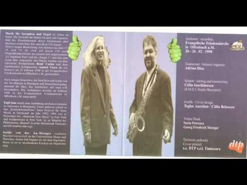 A. WALLNER Ludium III  / Musik fur Saxophon und Orgel / Emil Sein / Isolde von der AU-METZGER