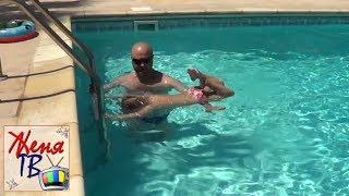 Как научиться плавать Дыхание Учимся плавать Как научить плавать ребенка Как правильно дышать в воде