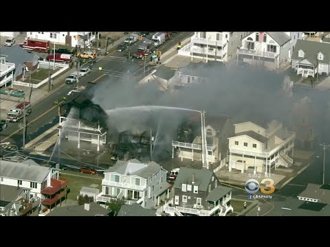 2 Injured, 1 Elderly Woman Unaccounted For After Fire Destroys Several Buildings In Sea Isle City