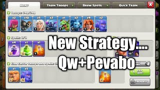 Th10 vs Th11 Legend league attacks.... Qw+Pevabo Very strong against max Th11s.. Enjoy 😘❤😘❤
