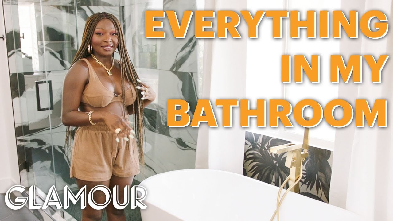 Everything in Shalom Blac's Newly Renovated Bathroom | Self Reflections | Glamour