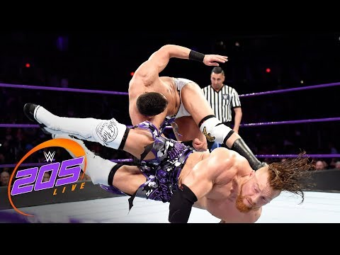 Buddy Murphy vs. Ariya Daivari: WWE 205 Live, Feb. 20, 2018