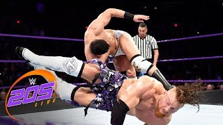 Buddy Murphy vs. Ariya Daivari: WWE 205 Live, Feb. 20, 2018