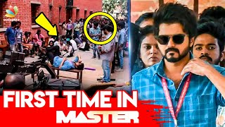 Master Movie Making | Art Director Sathish reveals | Vijay, Vijay Sethupathi, Lokesh Kanagaraj