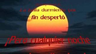 Cualquier noche puede salir el sol - LMDC (con letra)