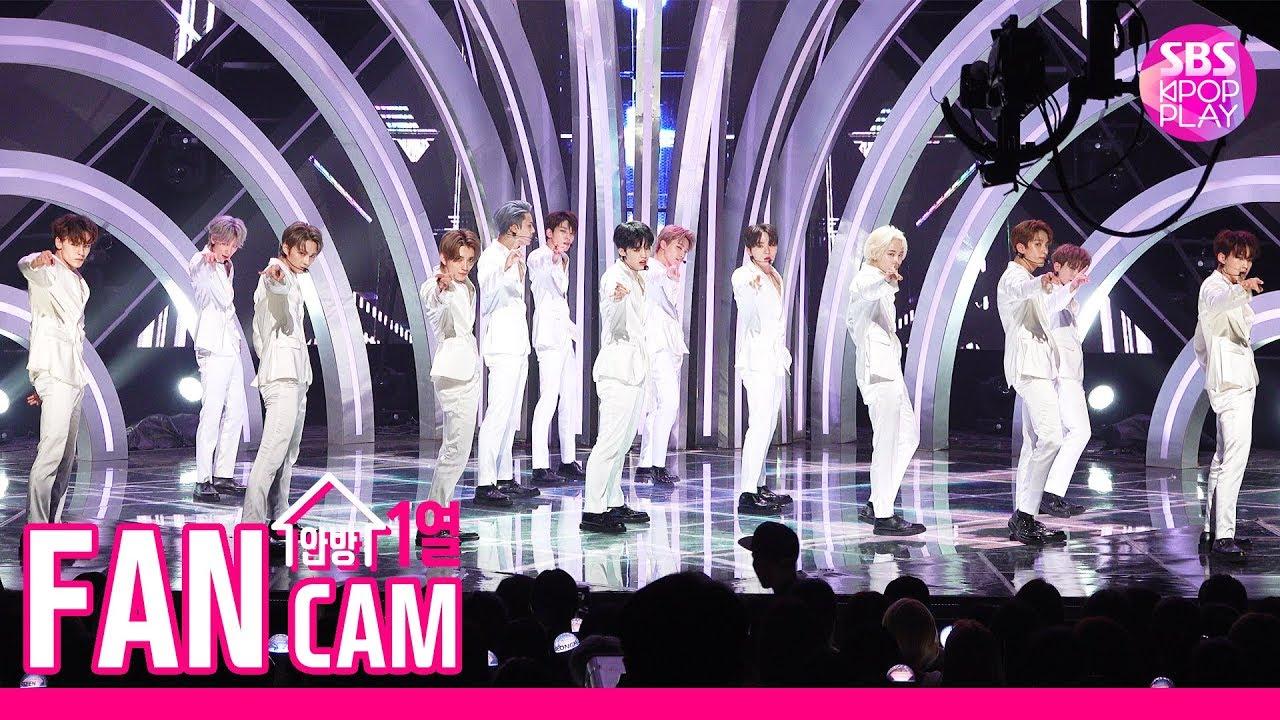 [안방1열 직캠4K] 세븐틴 'HIT' 풀캠 (SEVENTEEN 'HIT' Fancam)ㅣ@SBS Inkigayo_2019.8.11