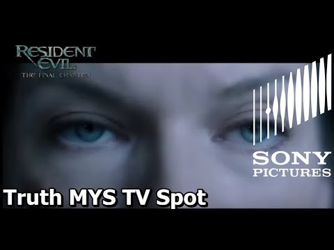 Resident Evil The Final Chapter Truth MYS TV Spot Malaysia