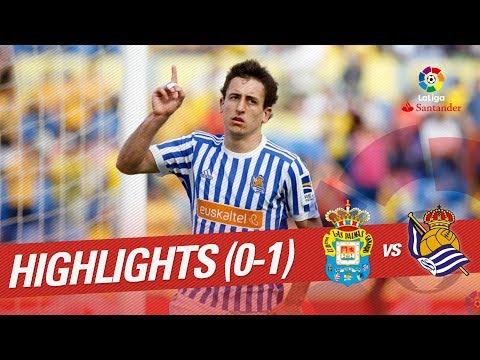Resumen de UD Las Palmas vs Real Sociedad (0-1)