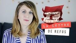 La lettre de refus d'un éditeur   Samantha Bailly