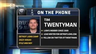 Detroit Lions insider Tim Twentyman on BYU Sports Nation