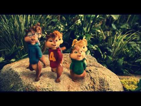 Alvin e os esquilos cantando Vou Desafiar Você MC Sapão