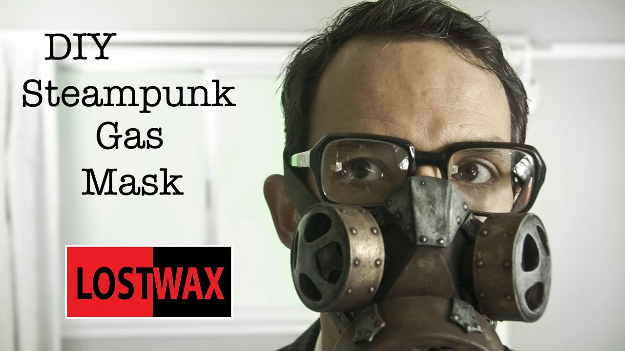 How To Make A Diy Steampunk Gas Mask Tutorial And Pattern