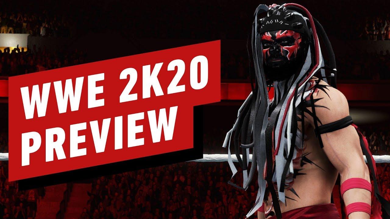 WWE 2K20 es una mezcla sublime de historias estelares y películas slasher + vídeo