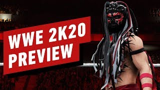 WWE 2K20 is a Sublime Mix of Stellar Stories and Slasher Movies
