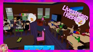 "Roblox Livestream (Replay) Restaurant Tycoon - France ""Un peu cramped !"""