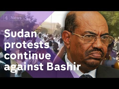 Sudan protests: Thousands move against Omar al-Bashir