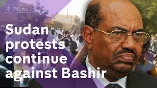 Download Video Sudan protests: Thousands move against Omar al-Bashir MP3 3GP MP4
