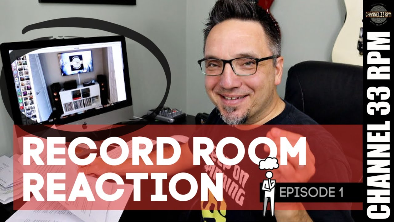 Reacting to Vinyl Community music rooms - Rate My Record Room - YouTube