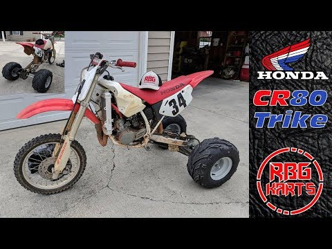 Honda CR80 Trike Conversion