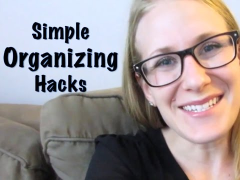 HOME ORGANIZING HACKS   Small Space Ideas