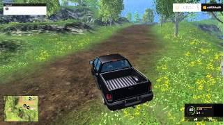 Farming Simulator 2015 Stunt on map
