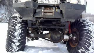 Ниссан Патрол + 66 мосты + кразовские колеса