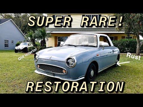 Restoring Samcrac's Imported Nissan Figaro Part 1