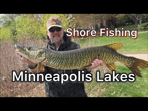 Shore Fishing Minneapolis Lakes