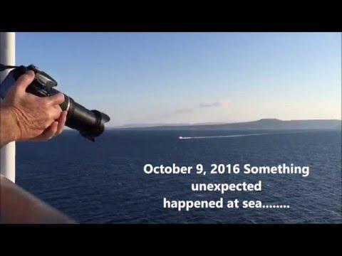 Syrian Refuges Headed for Lesbos Island Greece